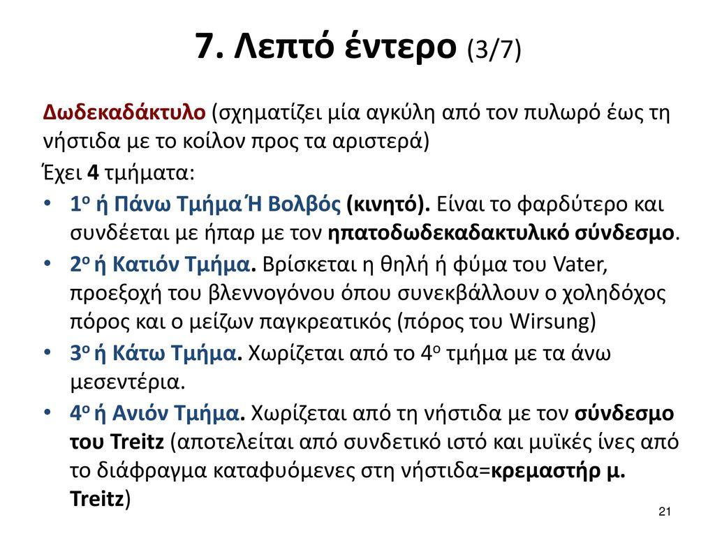7. Λεπτό έντερο (4/7)