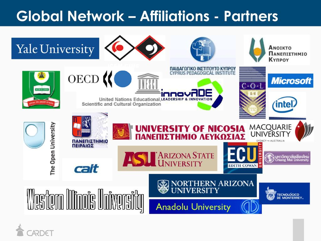 Global Network – Affiliations - Partners
