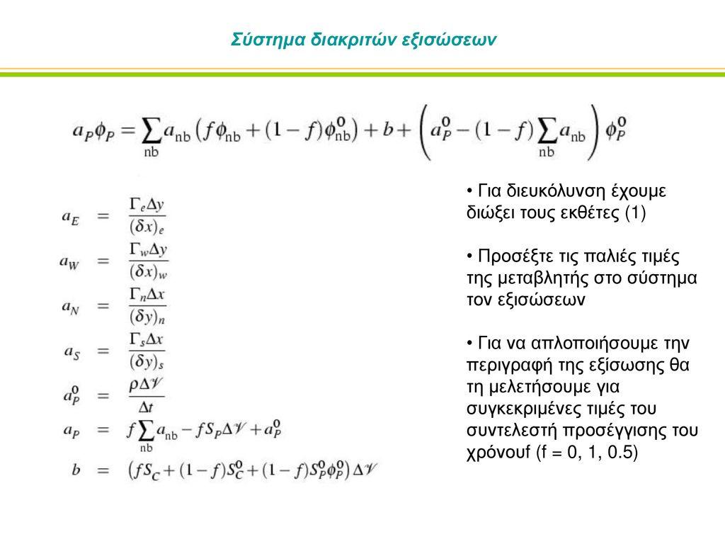Σύστημα διακριτών εξισώσεων