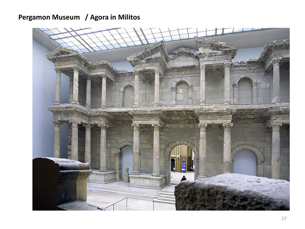 Pergamon Museum / Agora in Militos