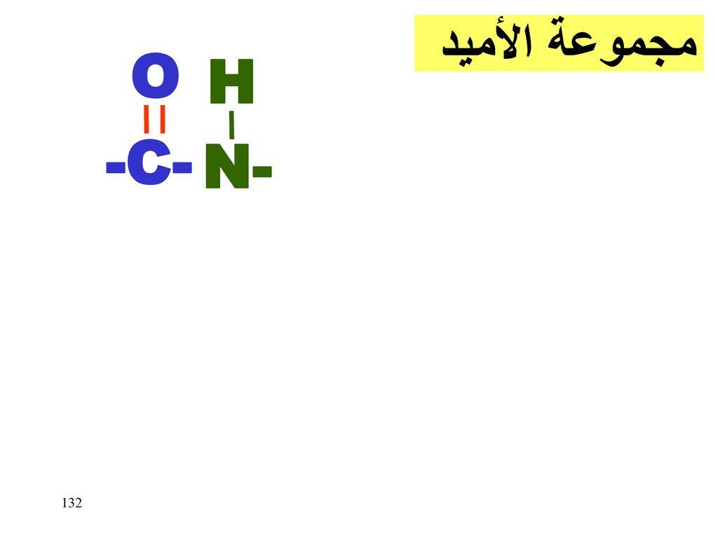 مجموعة الأميد O N- H -C-