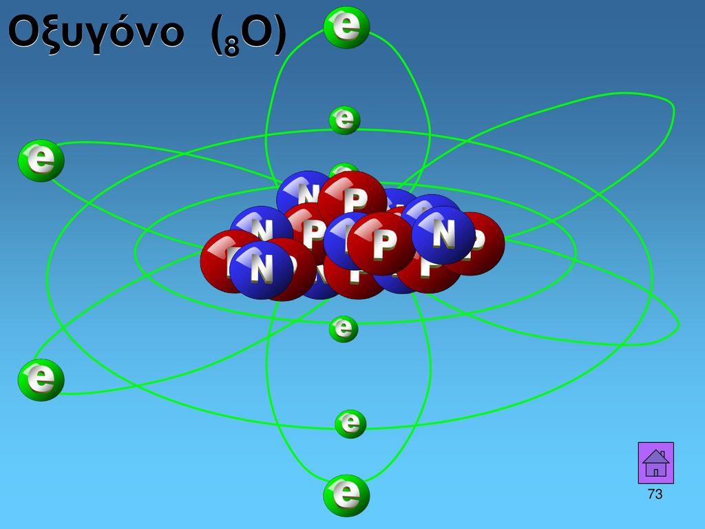 Οξυγόνο (8Ο) 73