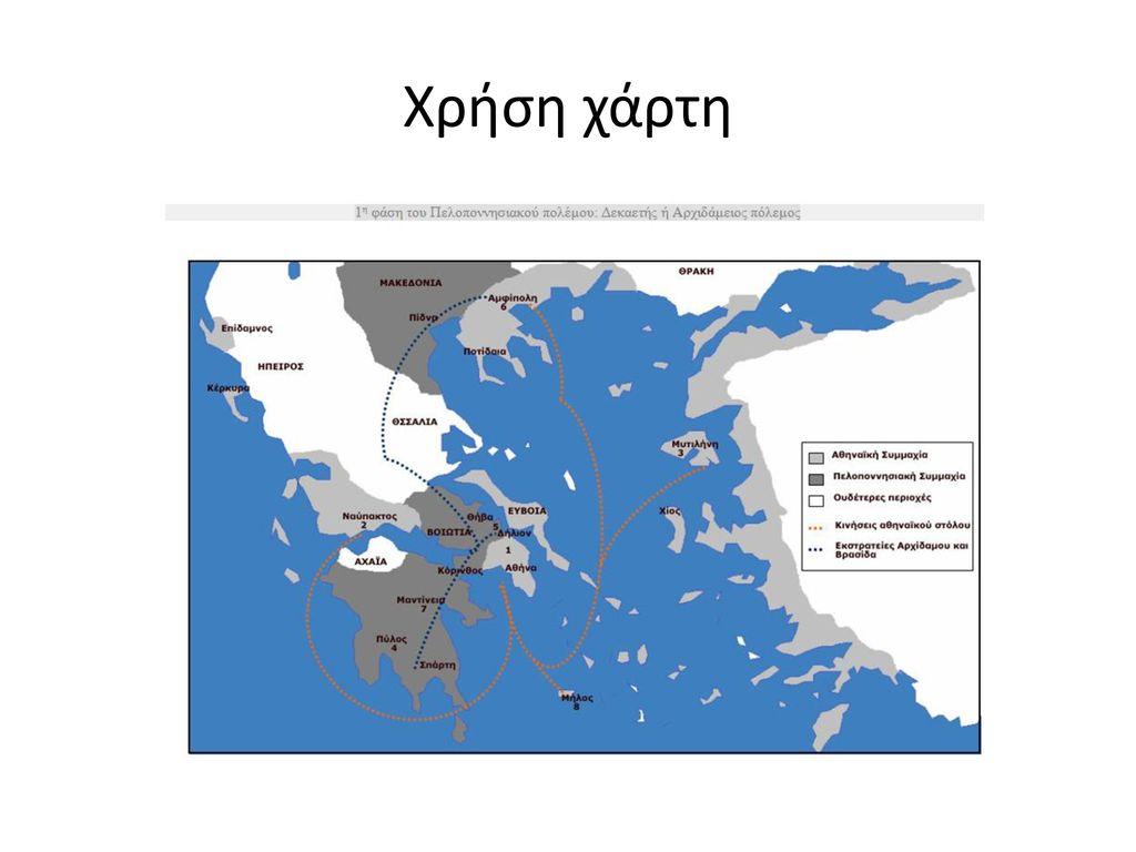 Χρήση χάρτη