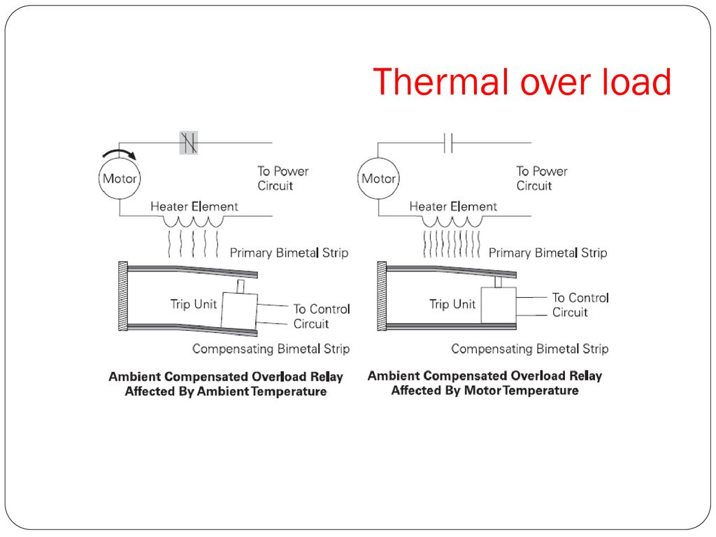 Thermal over load