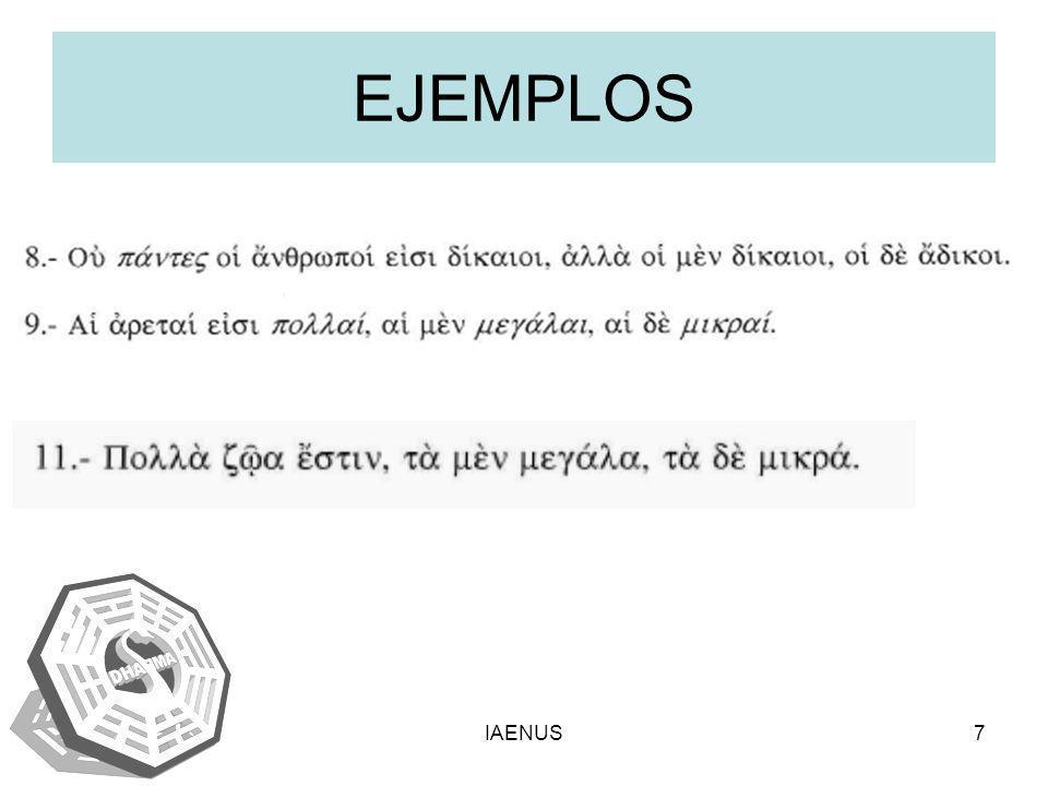 EJEMPLOS IAENUS