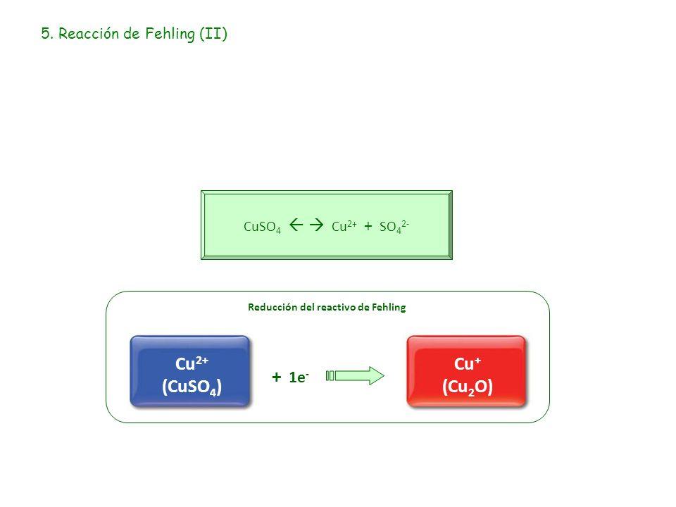 5. Reacción de Fehling (II)