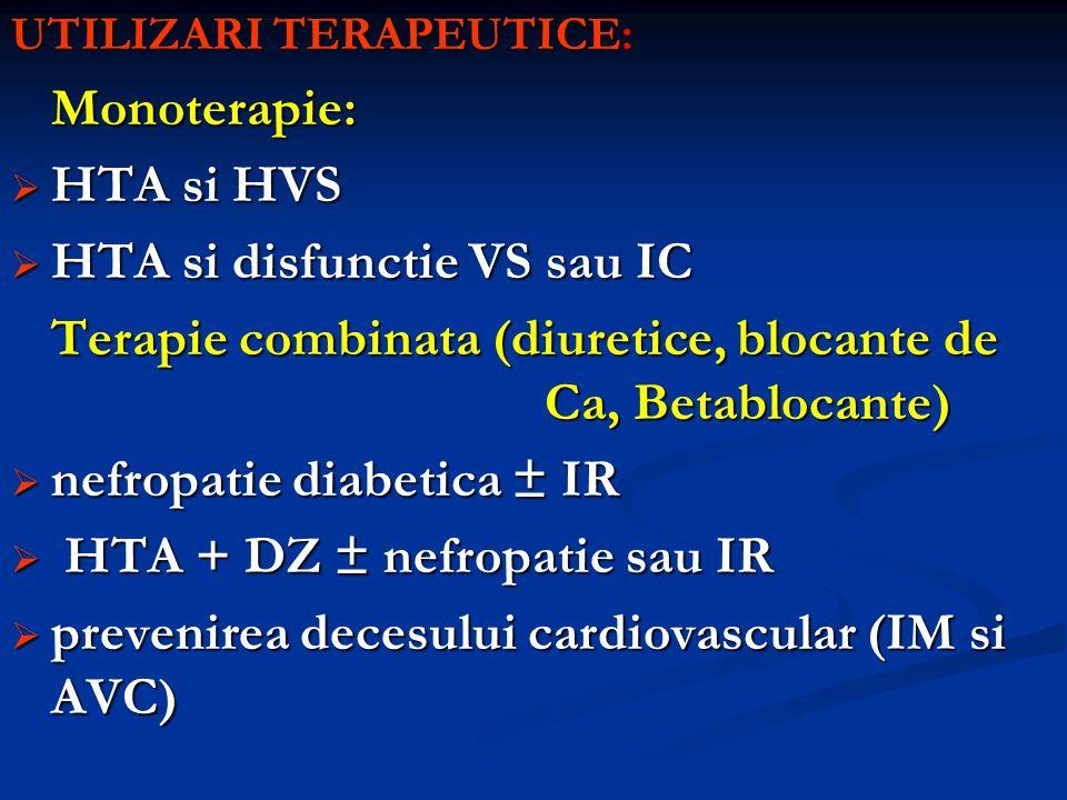 HTA si disfunctie VS sau IC