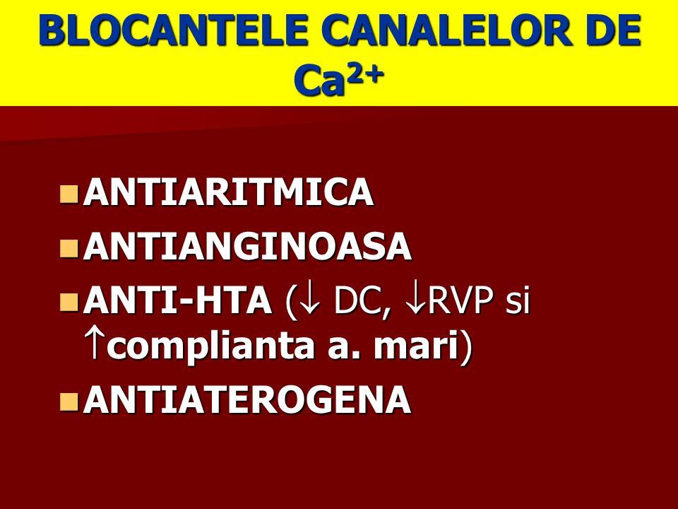 BLOCANTELE CANALELOR DE Ca2+