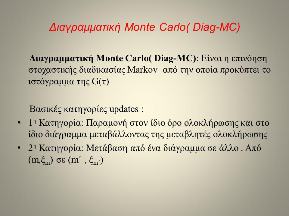 Διαγραμματική Monte Carlo( Diag-MC)