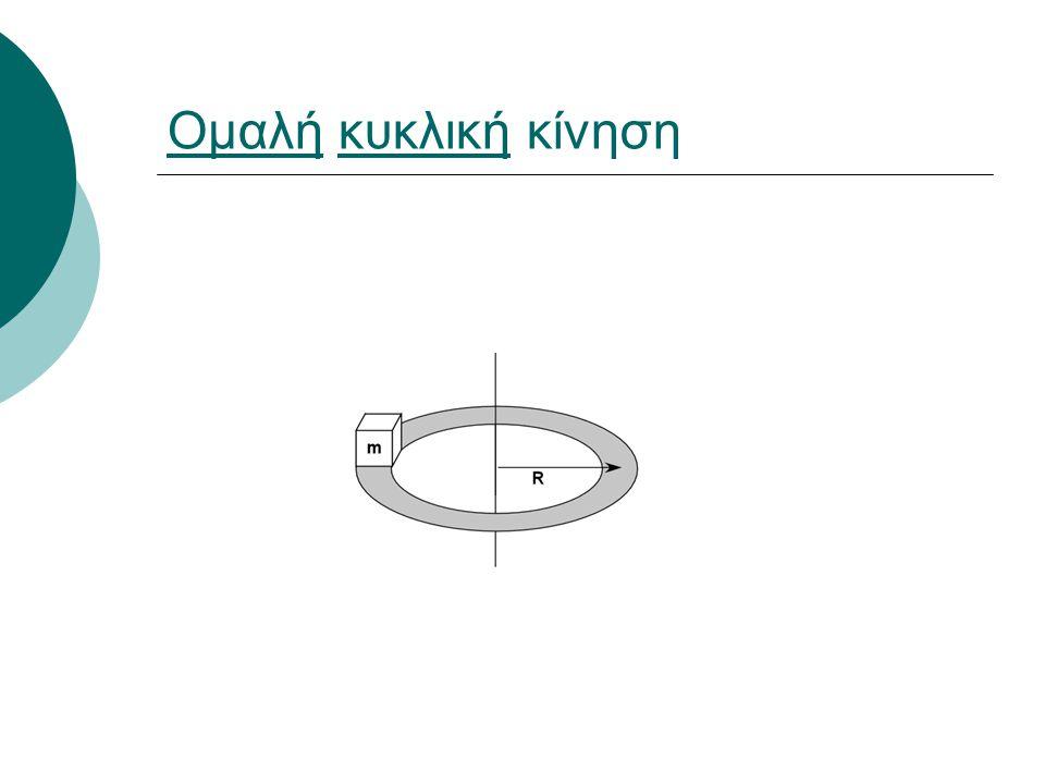Ομαλή κυκλική κίνηση