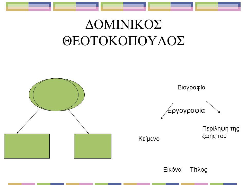 ΔΟΜΙΝΙΚΟΣ ΘΕΟΤΟΚΟΠΟΥΛΟΣ