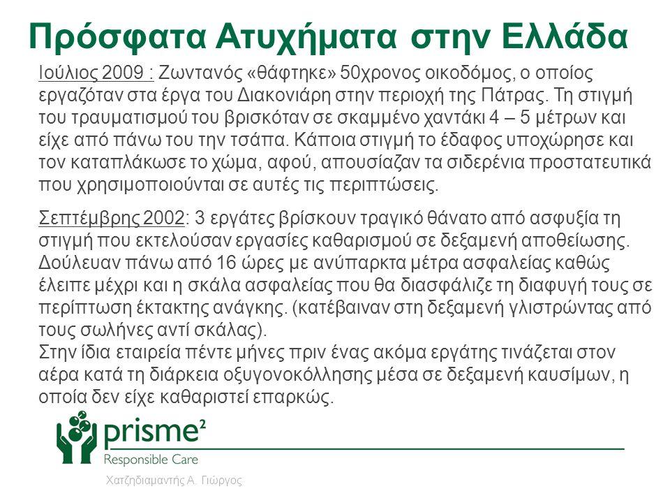 Πρόσφατα Ατυχήματα στην Ελλάδα