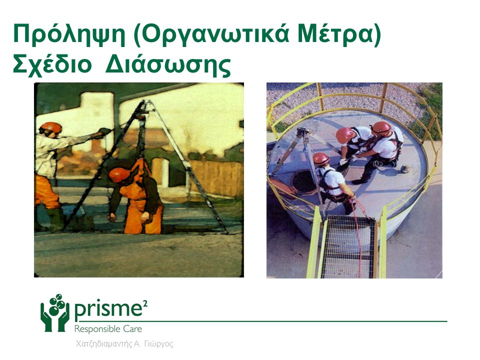 Πρόληψη (Οργανωτικά Μέτρα) Σχέδιο Διάσωσης