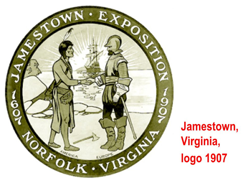 Jamestown, Virginia, logo 1907