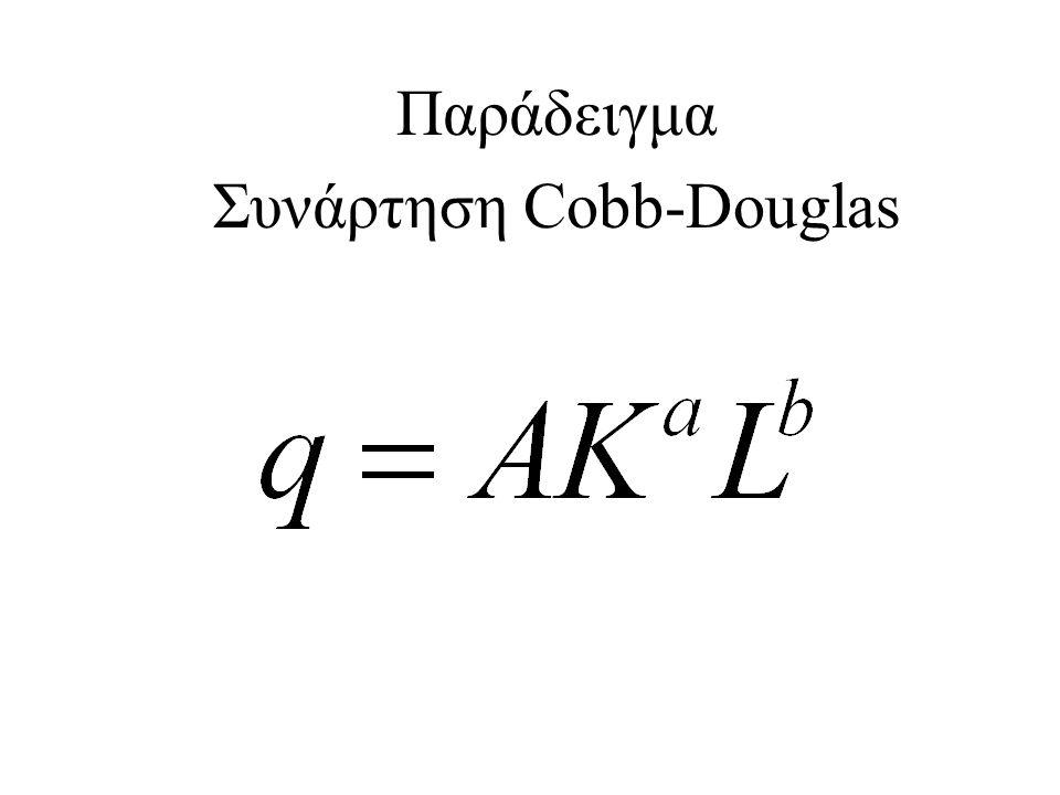 Συνάρτηση Cobb-Douglas
