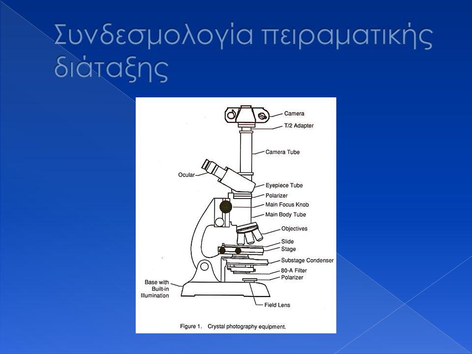 Συνδεσμολογία πειραματικής διάταξης