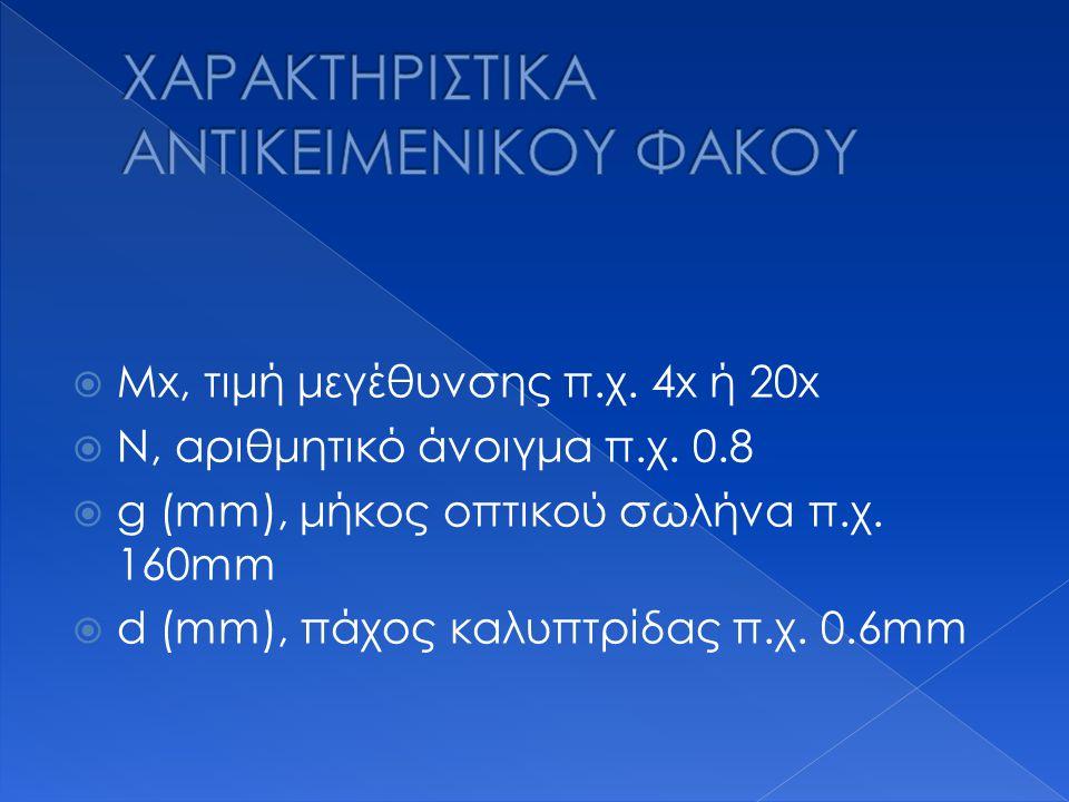 ΧΑΡΑΚΤΗΡΙΣΤΙΚΑ ANTIKEIMENIKOY ΦΑΚΟΥ