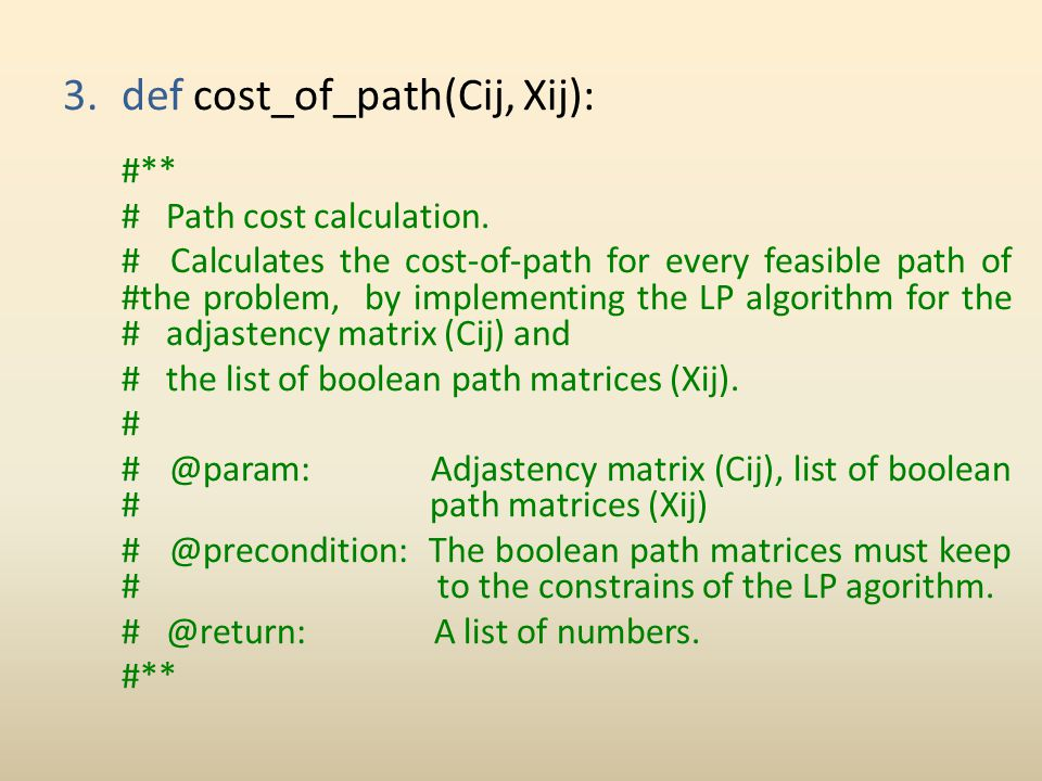 def cost_of_path(Cij, Xij):