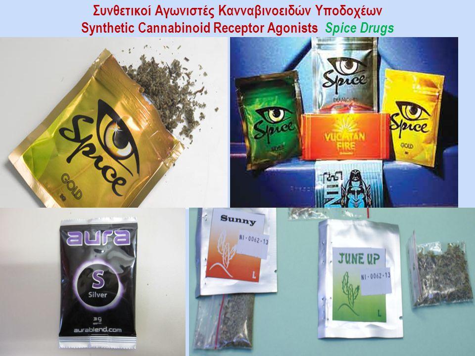 Συνθετικοί Αγωνιστές Κανναβινοειδών Υποδοχέων Synthetic Cannabinoid Receptor Agonists Spice Drugs