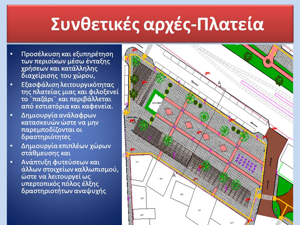 Συνθετικές αρχές-Πλατεία