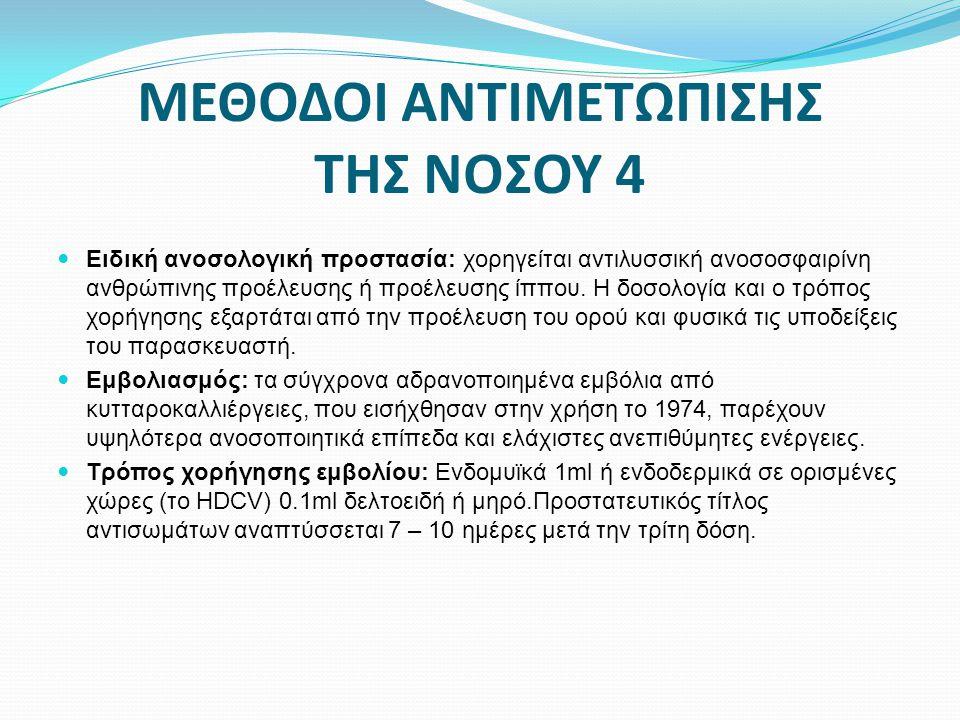 ΜΕΘΟΔΟΙ ΑΝΤΙΜΕΤΩΠΙΣΗΣ ΤΗΣ ΝΟΣΟΥ 4