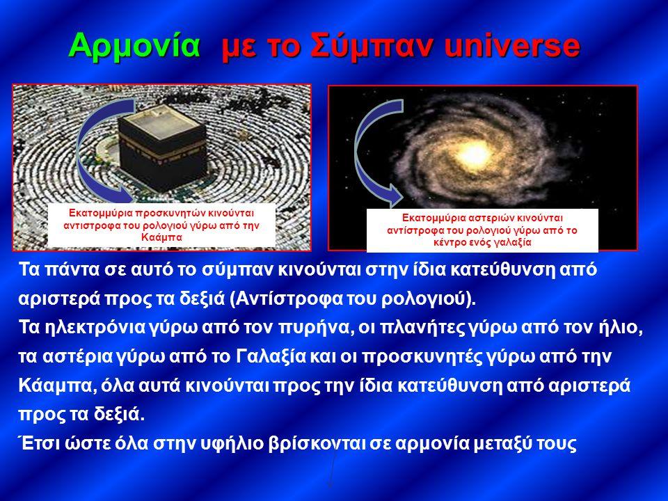 Αρμονία με το Σύμπαν universe