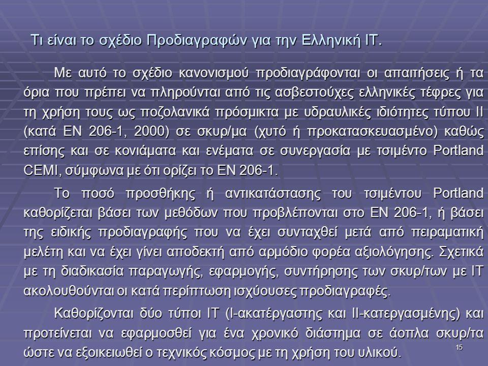 Τι είναι το σχέδιο Προδιαγραφών για την Ελληνική ΙΤ.