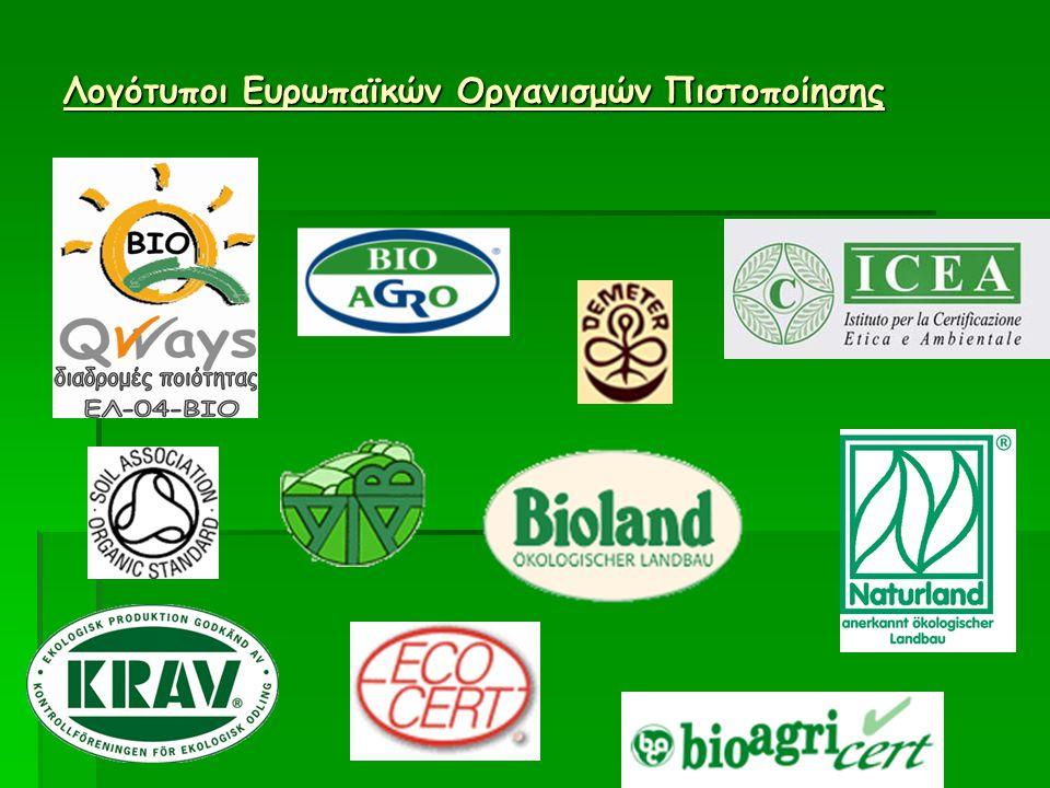 Λογότυποι Ευρωπαϊκών Οργανισμών Πιστοποίησης