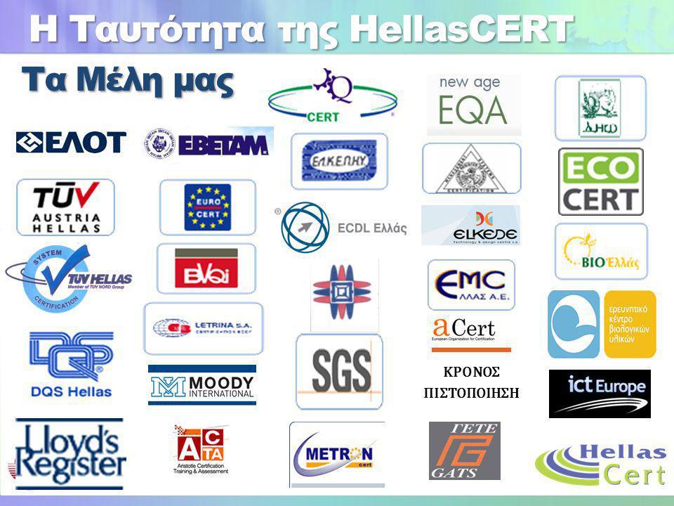 Η Ταυτότητα της HellasCERT