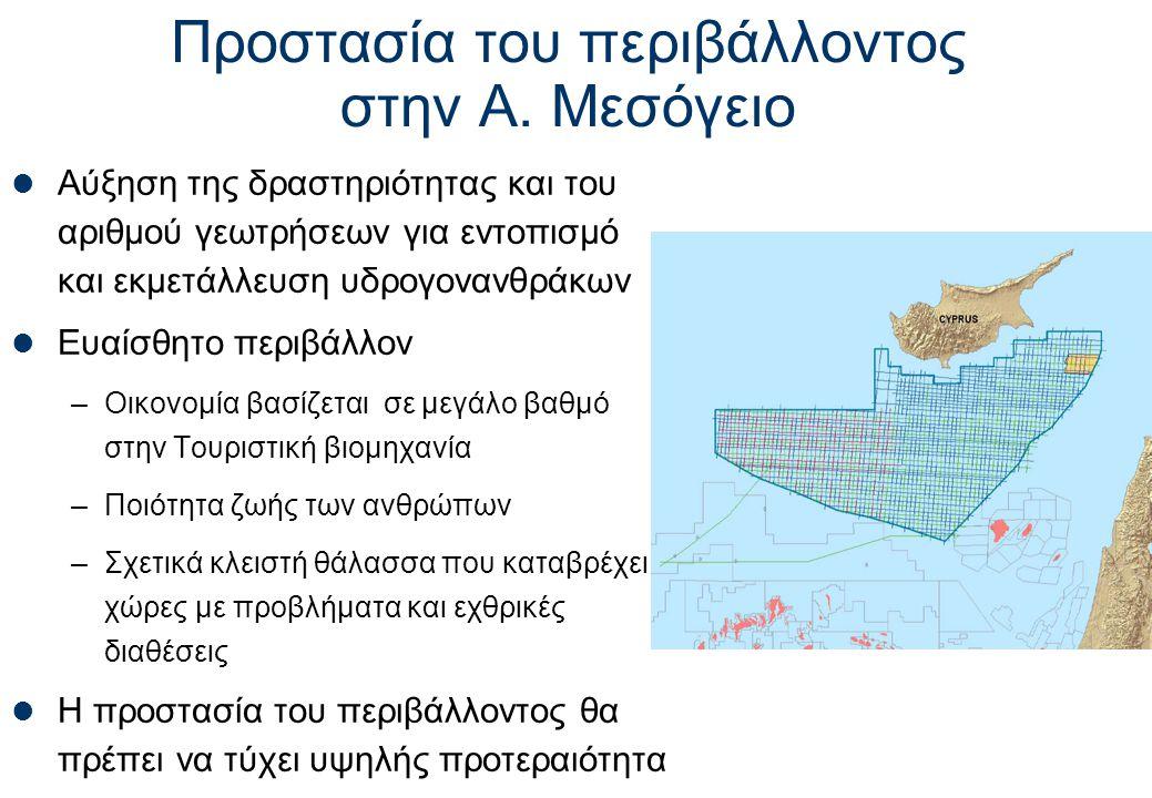 Προστασία του περιβάλλοντος στην Α. Μεσόγειο