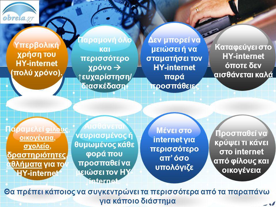 Δεν μπορεί να μειώσει ή να σταματήσει τον ΗΥ-internet παρά προσπάθειες