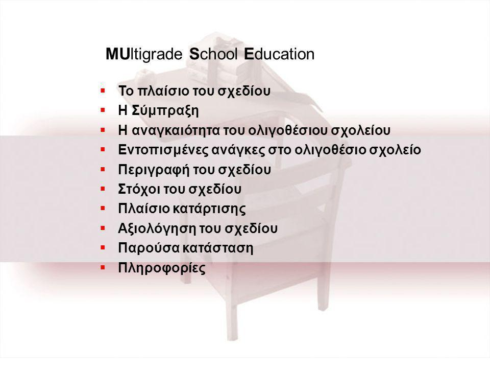MUltigrade School Education