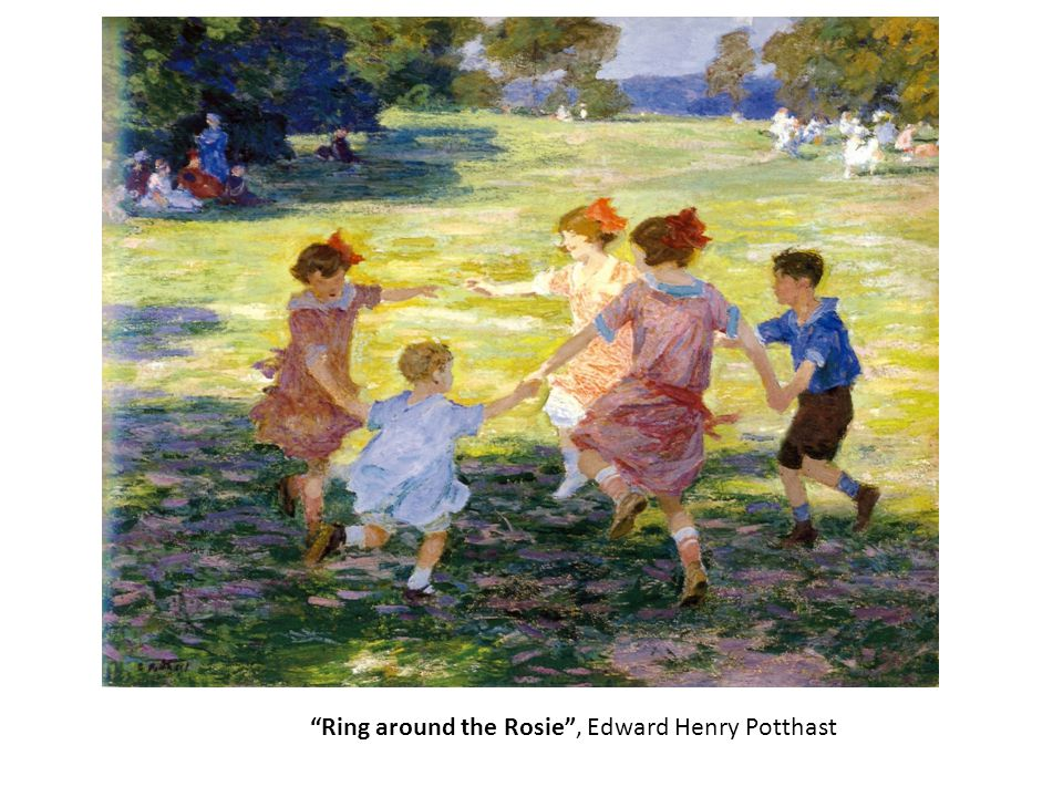 Ring around the Rosie , Edward Henry Potthast