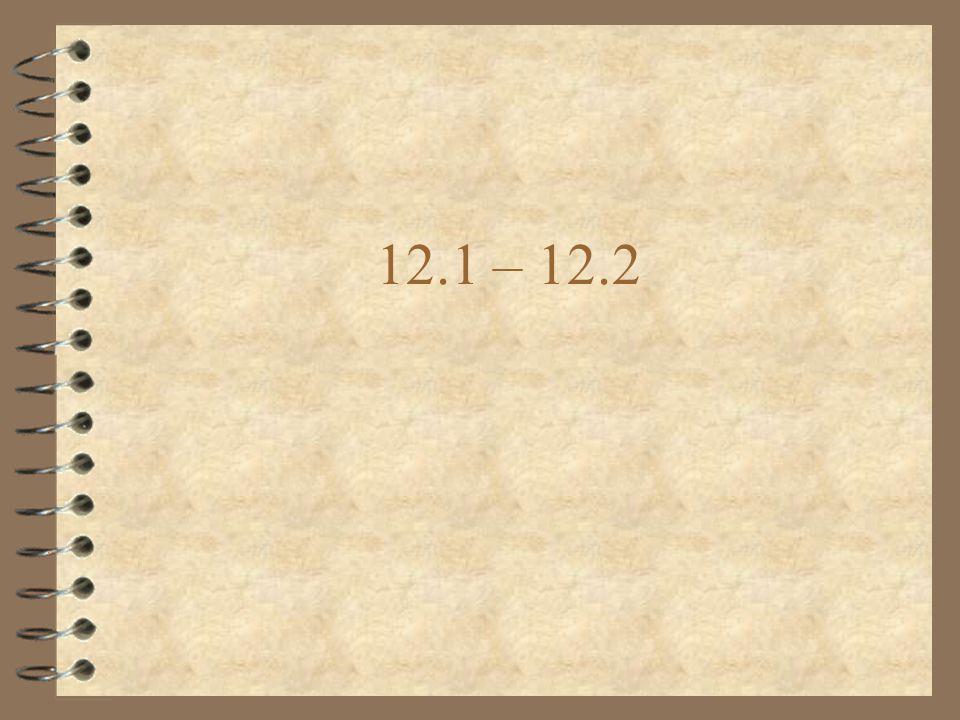 12.1 – 12.2