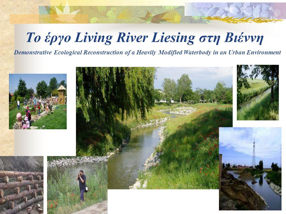 Το έργο Living River Liesing στη Βιέννη