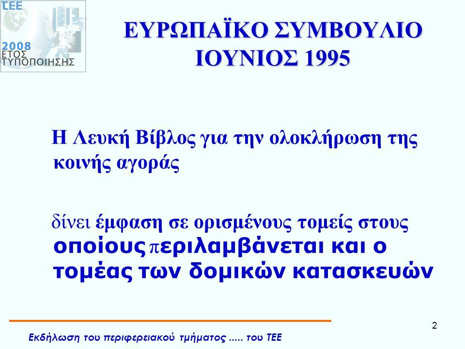 ΕΥΡΩΠΑΪΚΟ ΣΥΜΒΟΥΛΙΟ ΙΟΥΝΙΟΣ 1995