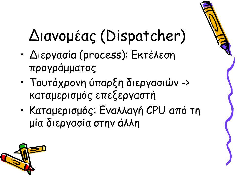 Διανομέας (Dispatcher)