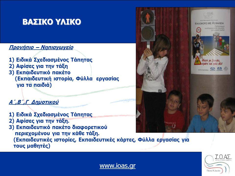 ΒΑΣΙΚΟ ΥΛΙΚΟ www.ioas.gr Προνήπιο – Νηπιαγωγείο