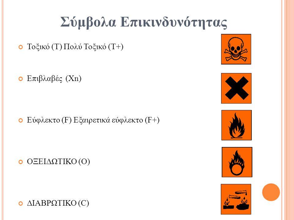Σύμβολα Επικινδυνότητας