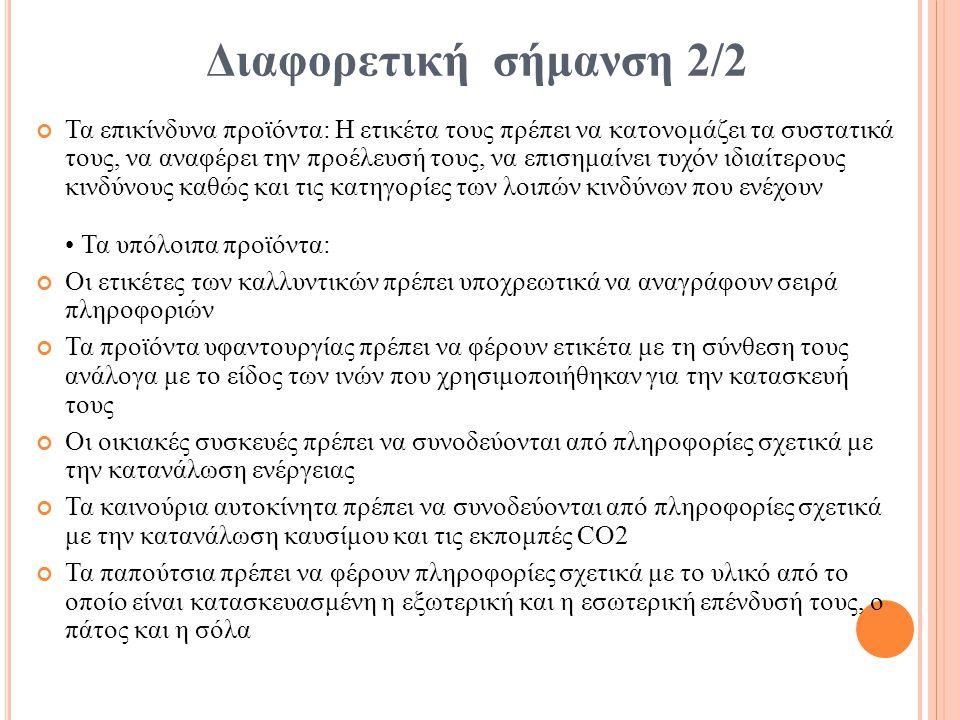 Διαφορετική σήμανση 2/2