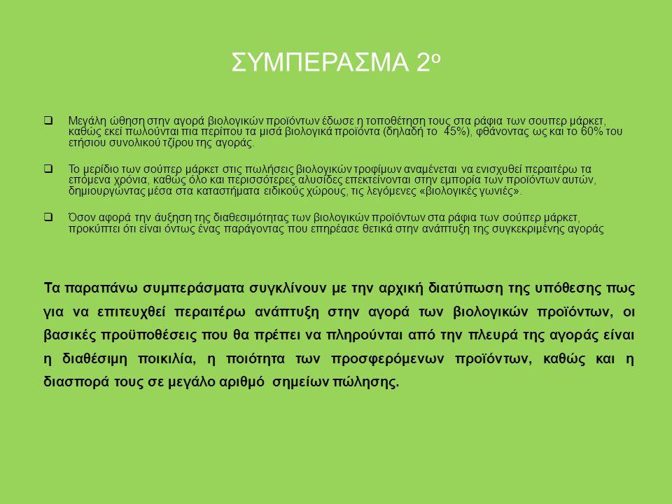 ΣΥΜΠΕΡΑΣΜΑ 2ο