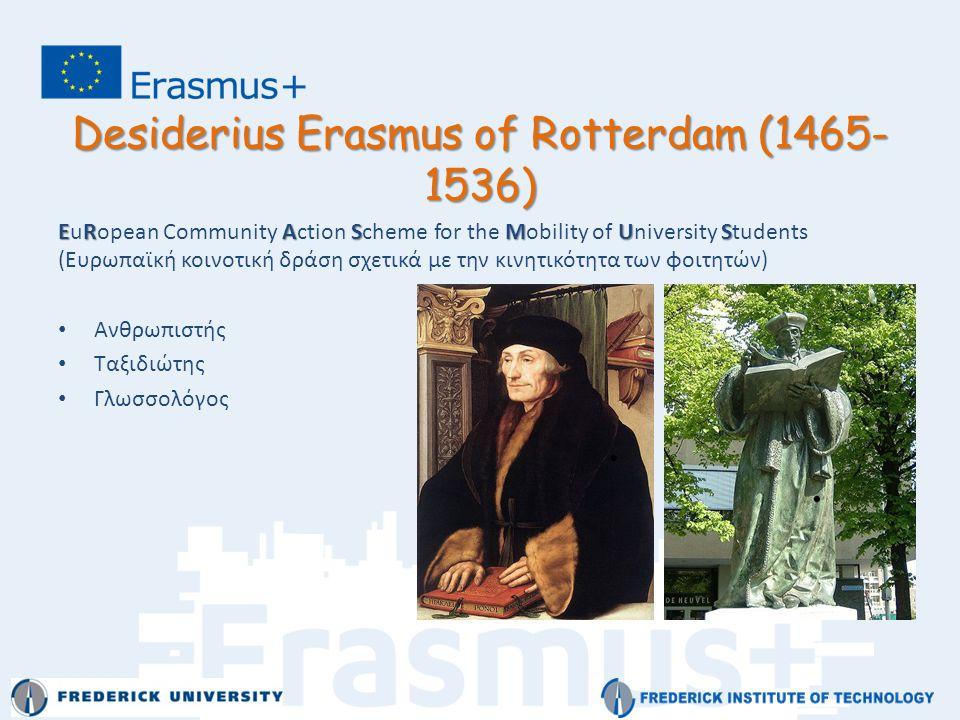 Desiderius Erasmus of Rotterdam (1465-1536)