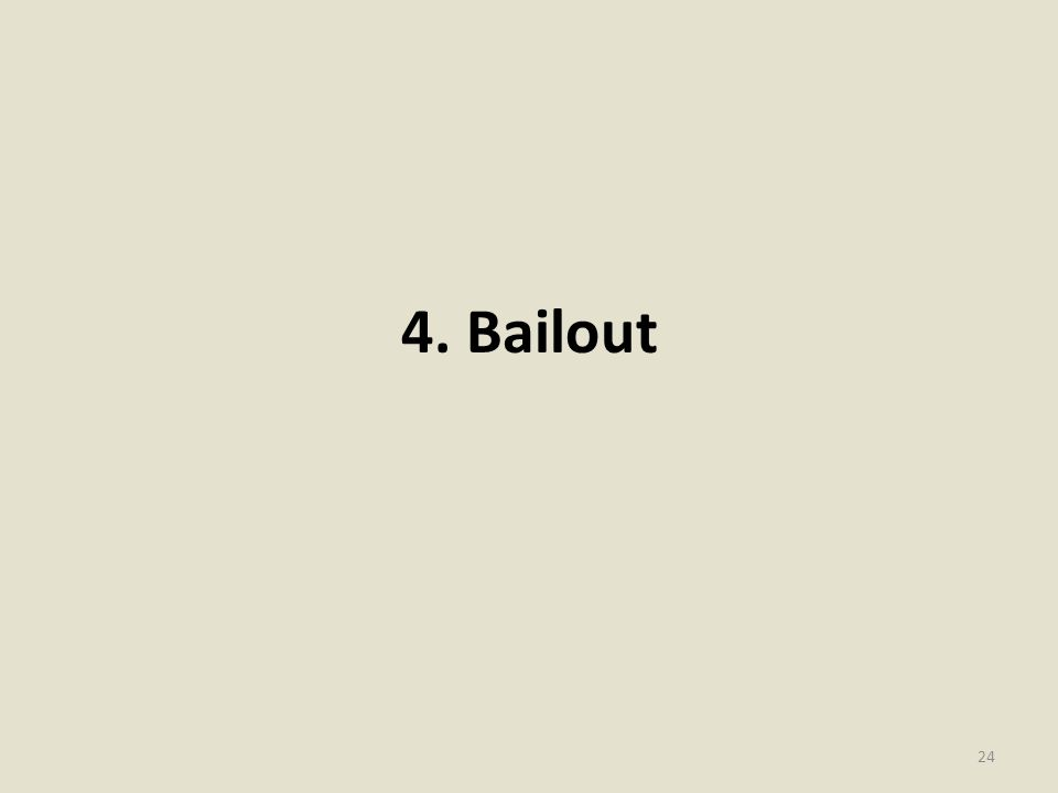 4. Bailout