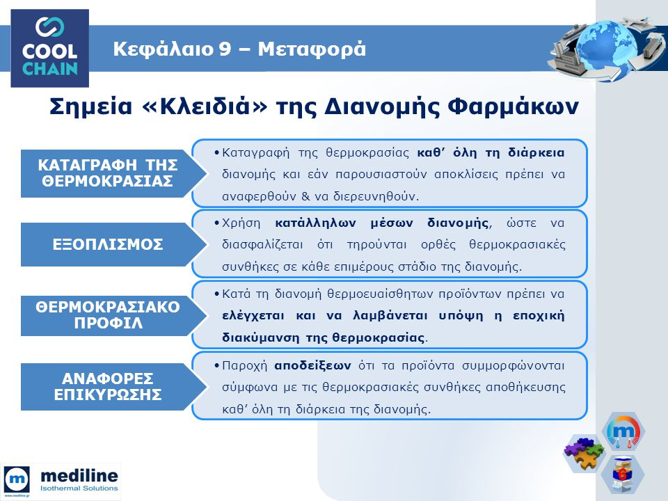 Σημεία «Κλειδιά» της Διανομής Φαρμάκων