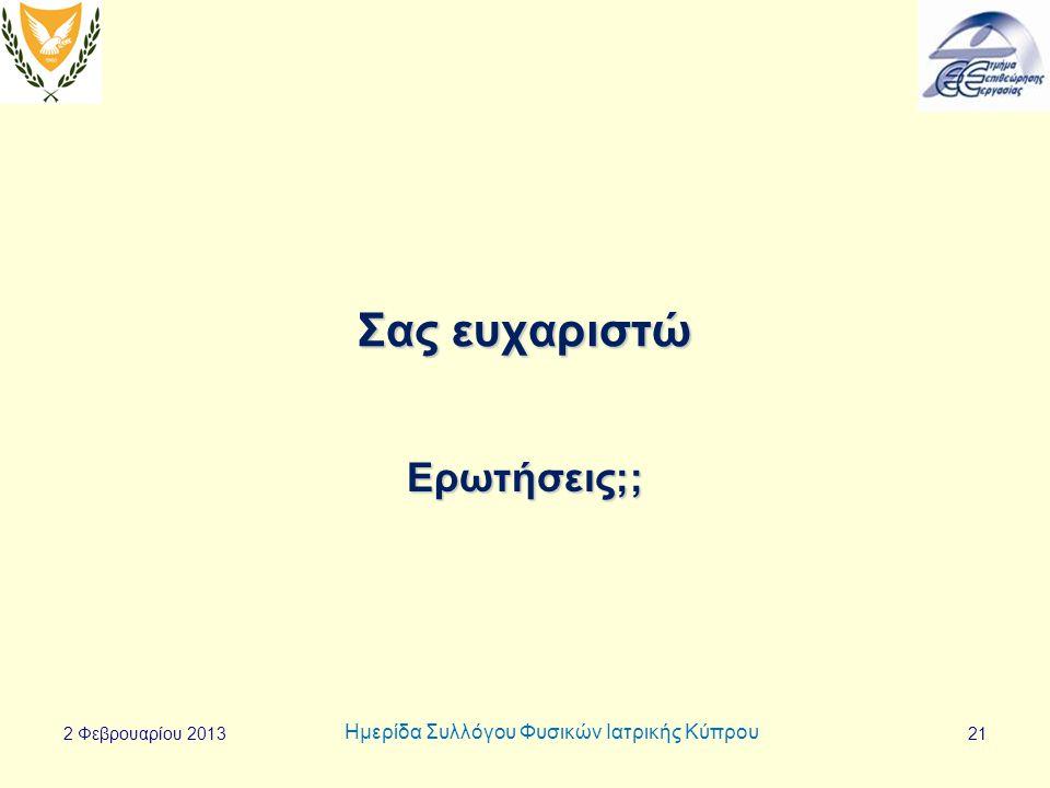 Ημερίδα Συλλόγου Φυσικών Ιατρικής Κύπρου