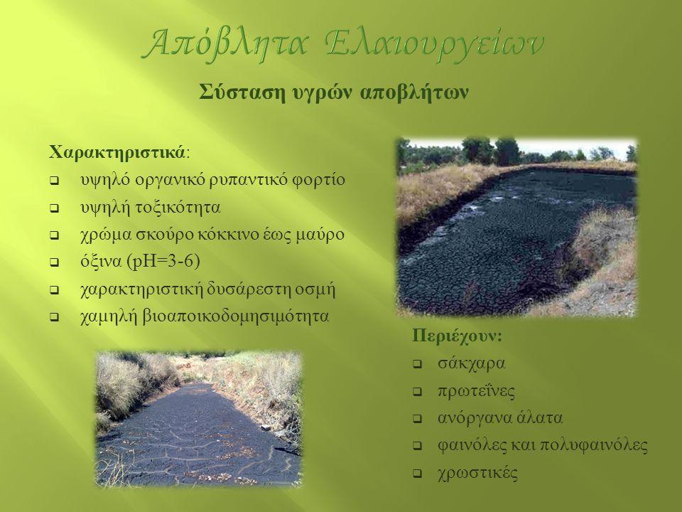 Απόβλητα Ελαιουργείων