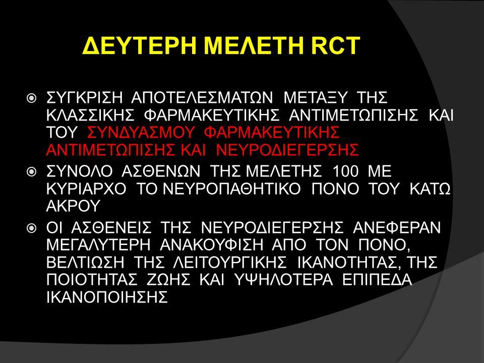 ΔΕΥΤΕΡΗ ΜΕΛΕΤΗ RCT