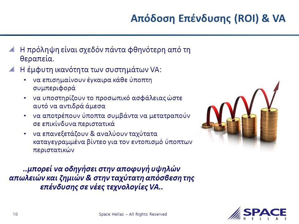 Απόδοση Επένδυσης (ROI) & VA