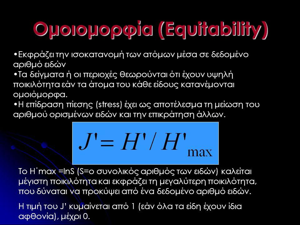 Ομοιομορφία (Equitability)