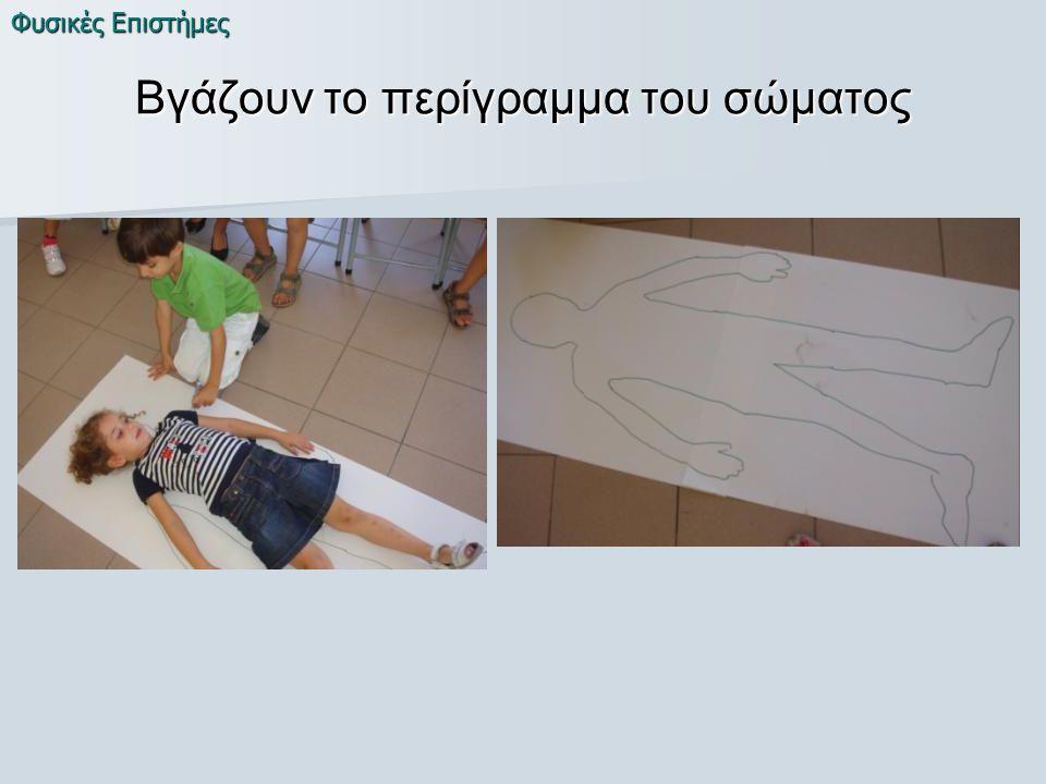 Βγάζουν το περίγραμμα του σώματος